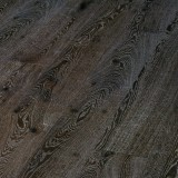 Дуб Rustic Brushed Plank 185 Black White